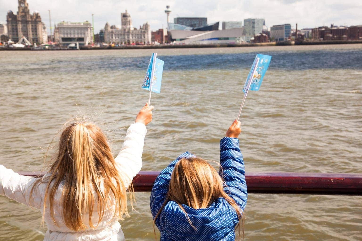 Ferry across the Mersey including Spaceport | Family Day Out
