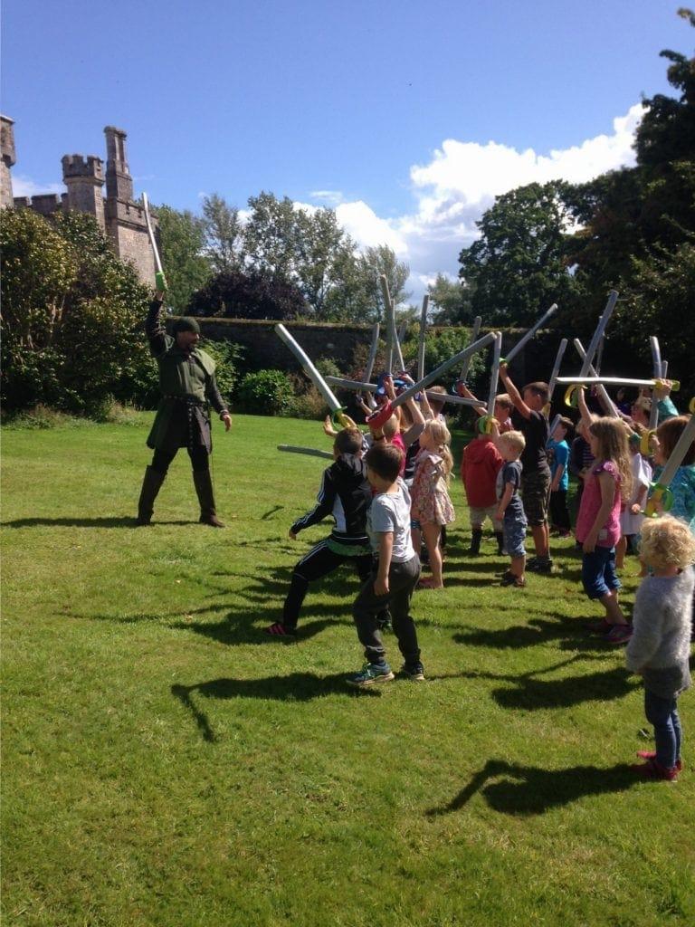 Powderham Castle – This Wealth of Robin Hood Fun Won't Tax You! www.minitravellers.co.uk