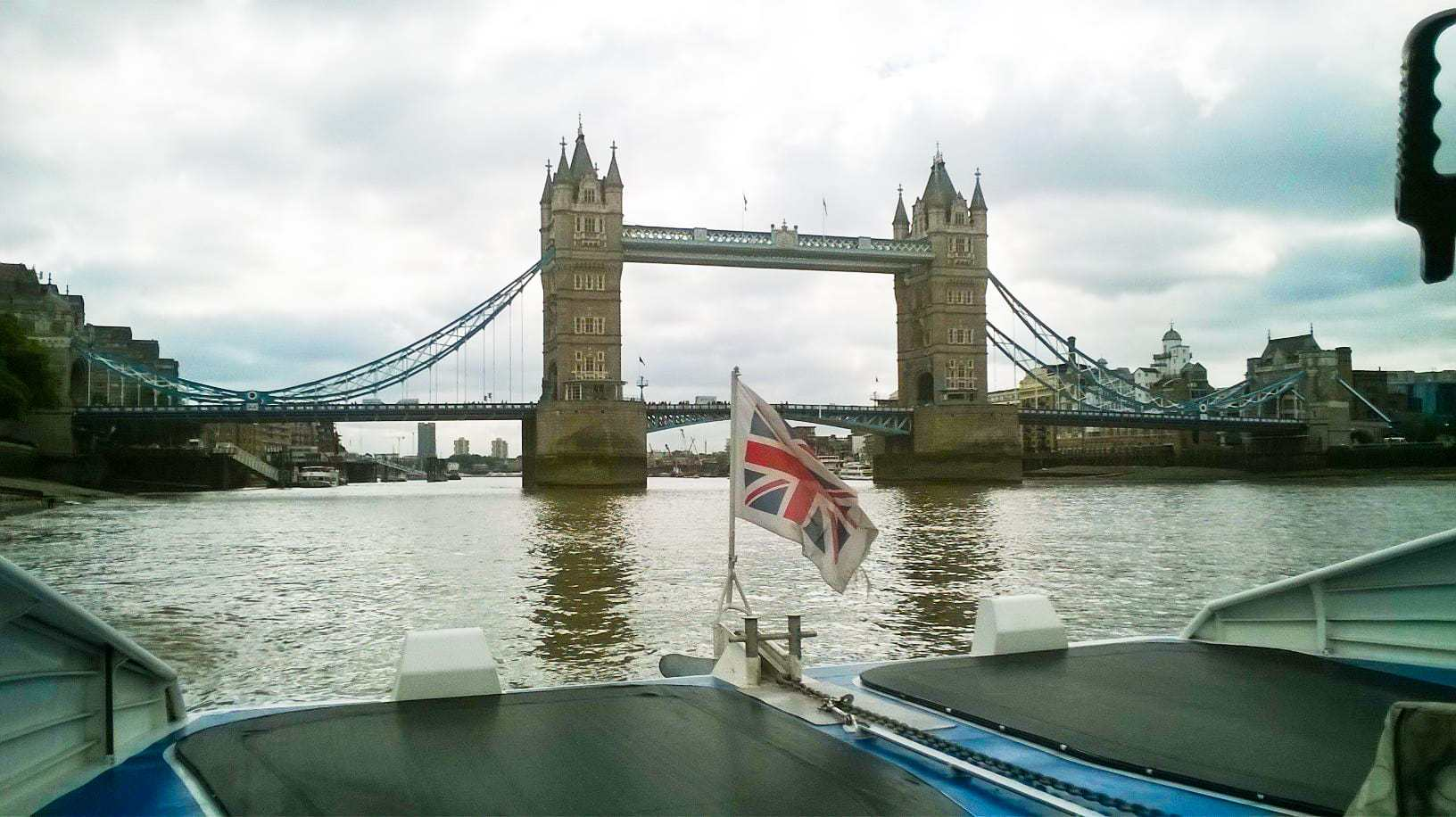 Family Day Out in London on the River