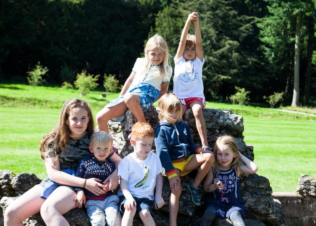 Going on a Bear Hunt at Lowther Castle www.minitravellers.co.uk