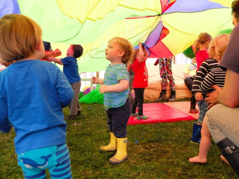 Deer Shed Festival with a Toddler www.minitravellers.co.uk