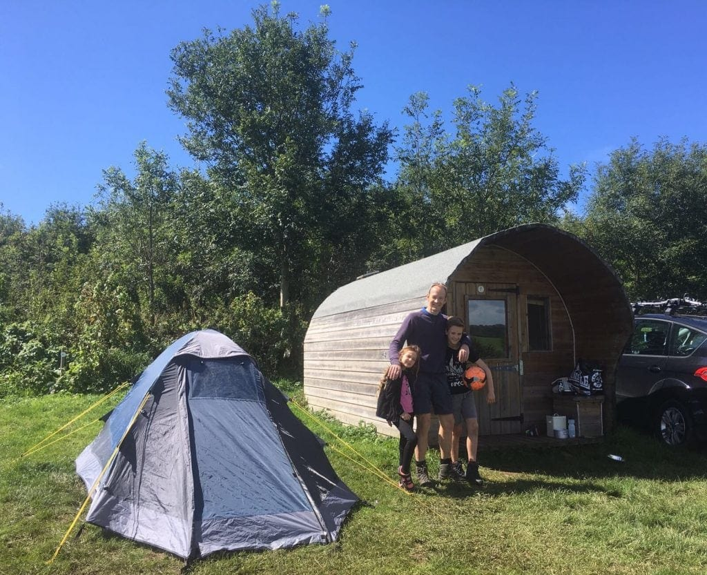 Glamping at Tamar Lake | Family Friendly CampsiteCornwall www.minitravellers.co.uk
