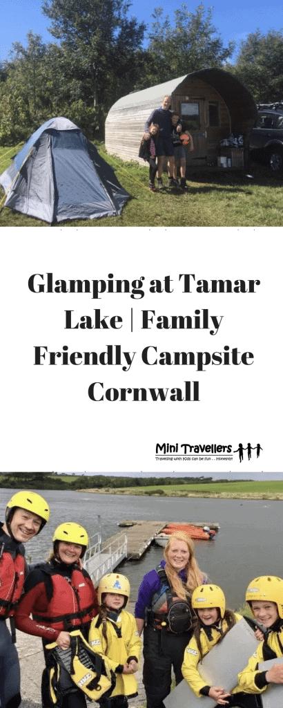 Glamping at Tamar Lake | Family Friendly Campsite Cornwall