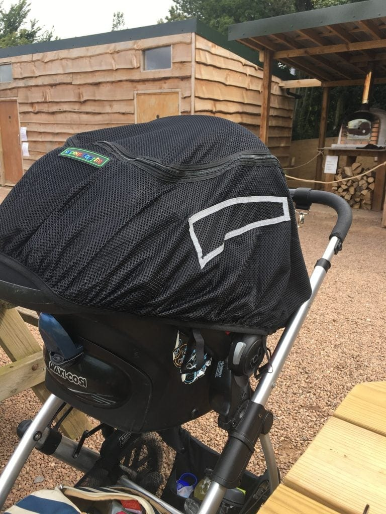 Review: Lullaby Shade for Buggies www.minitravellers.co.uk