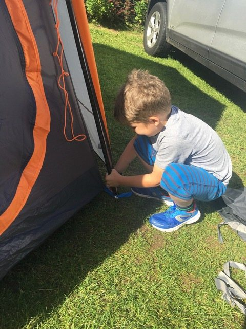 First Time Camping For The Family www.minitravellers.co.uk