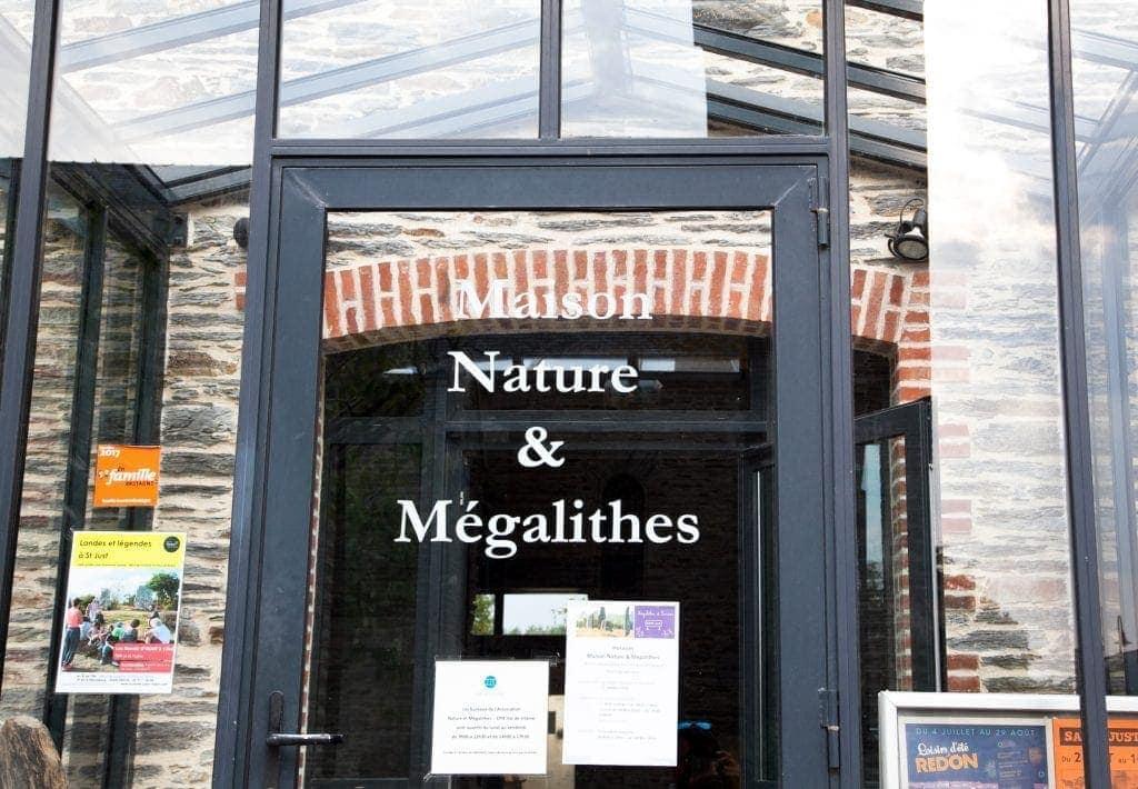 Maison de la Nature et des Mégalithes at St Just www.minitravellers.co.uk