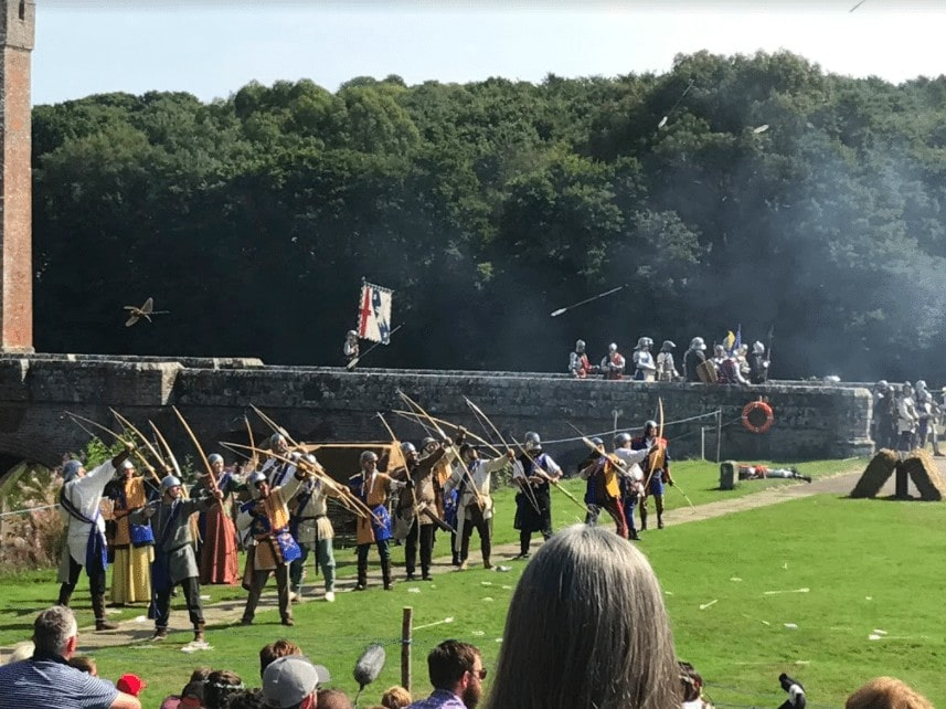 England's Medieval Festival for Families at Herstmonceux Castle