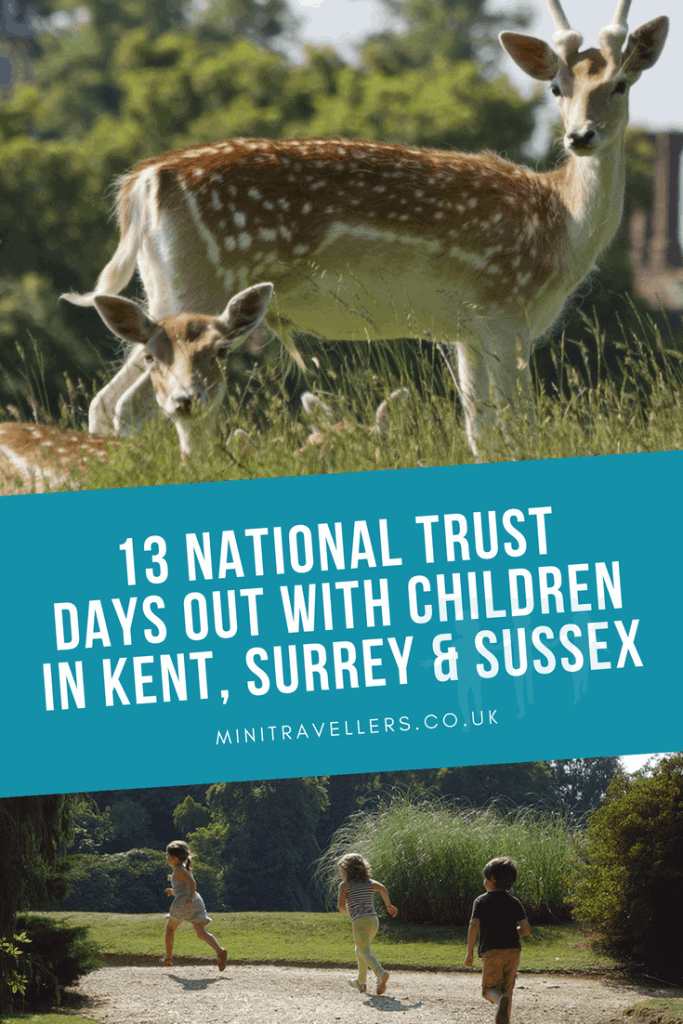 13 National Trust Days Out With Children In Kent, Surrey & Sussex
