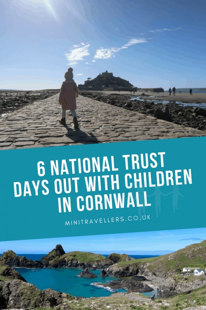 6 National Trust Days Out With Children In Cornwall
