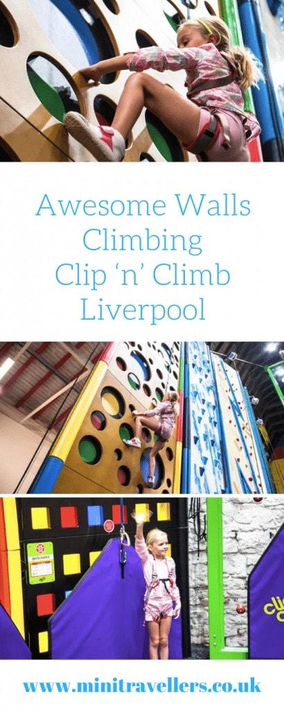 Awesome Walls Climbing Clip 'n' Climb Liverpool
