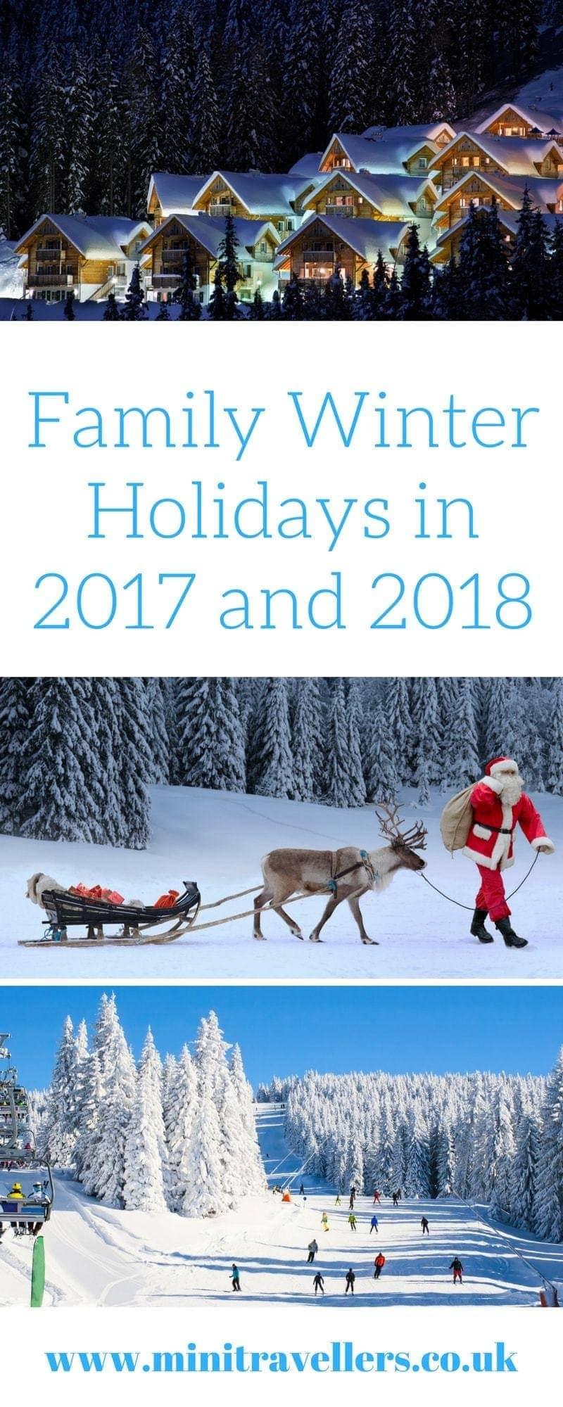 2018 Winter Family Holiday Ideas