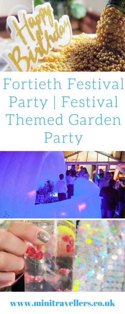 Fortieth Festival Party | Festival Themed Garden Party