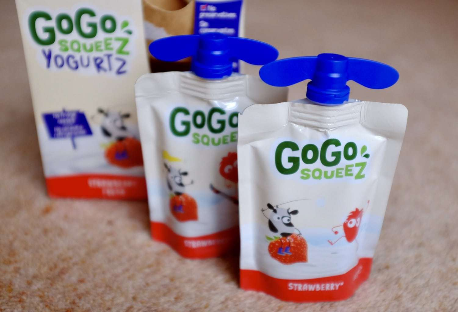 Travel Tips: GoGo squeeZ snacks | Mini Travellers Review