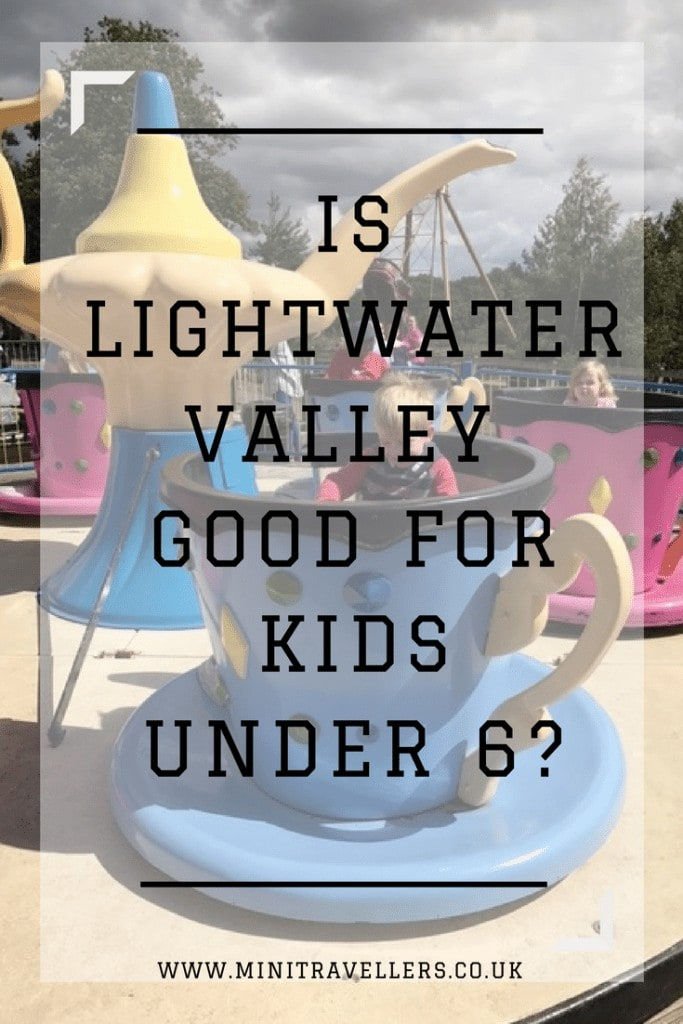 Is Lightwater Valley good for kids under 6-