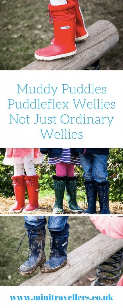 Muddy Puddles Puddleflex Wellies | Not Just Ordinary Wellies