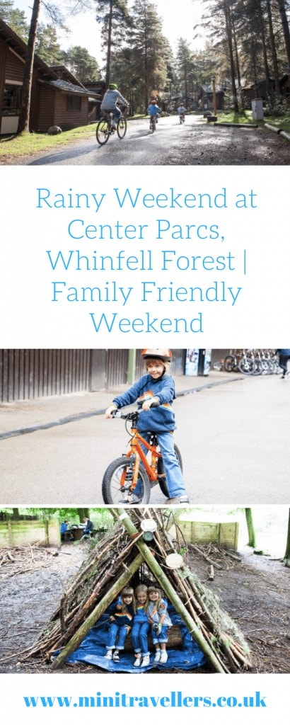 Rainy Weekend at Center Parcs, Whinfell Forest | Family Friendly Weekend