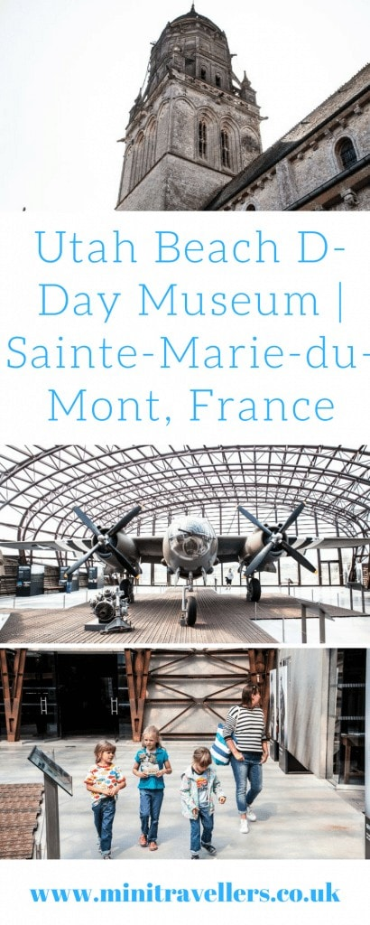 Utah Beach D-Day Museum   Sainte-Marie-du-Mont, France