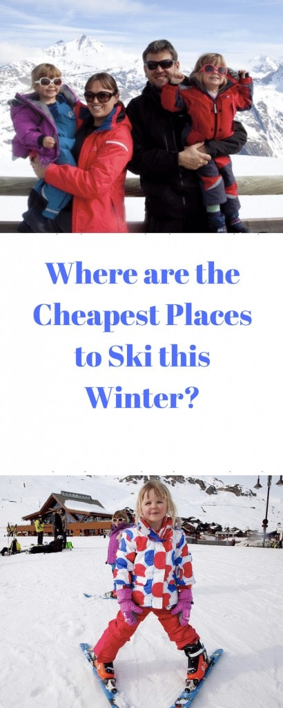 Where are the Cheapest Places to Ski this Winter? We list some of the more affordable ski resorts this year in our guide at Mini Travellers #skiing #skiresorts #familytravel #wintertravel