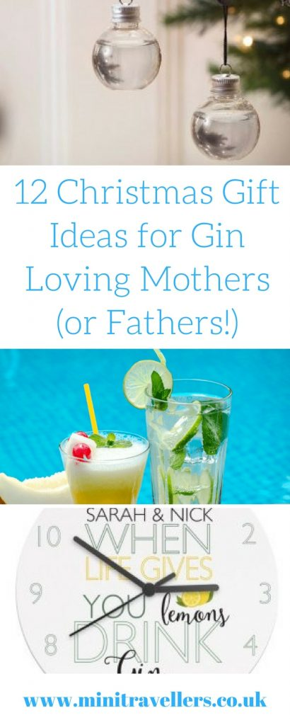 12 Christmas Gift Ideas for Gin Loving Mothers (or Fathers!)