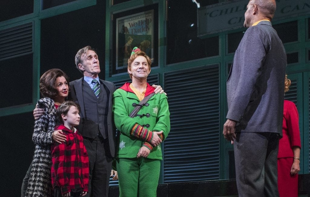 Review | Elf The Musical at The Lowry, Salford www.minitravellers.co.uk