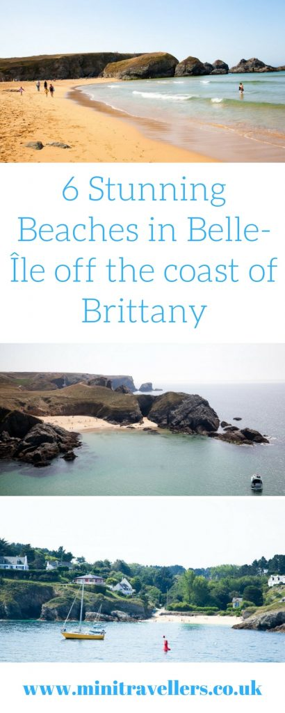 6 Stunning Beaches in Belle-Île off the coast of Brittany