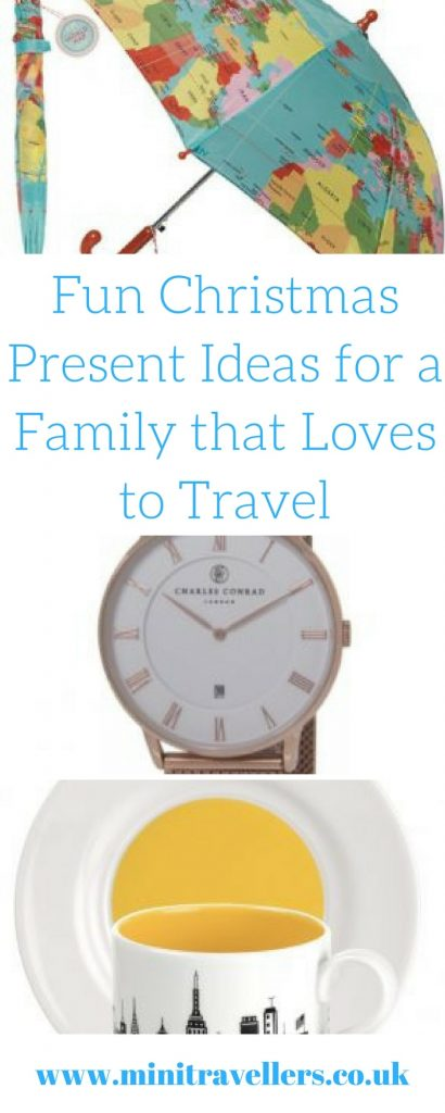 Fun Christmas Present Ideas for a Family that Loves to Travel