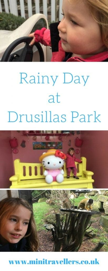 Rainy Day at Drusillas Park