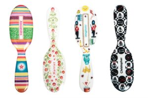 Travel sized hairbrush - as featured in my Christmas gift guide featuring gifts for travel lovers