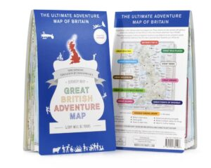 Ultimate adventure map - as featured in my Christmas gift guide featuring gifts for travel lovers
