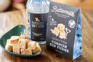 Buttermilk fudge - as featured in my Christmas gift guide full of gifts for gin lovers