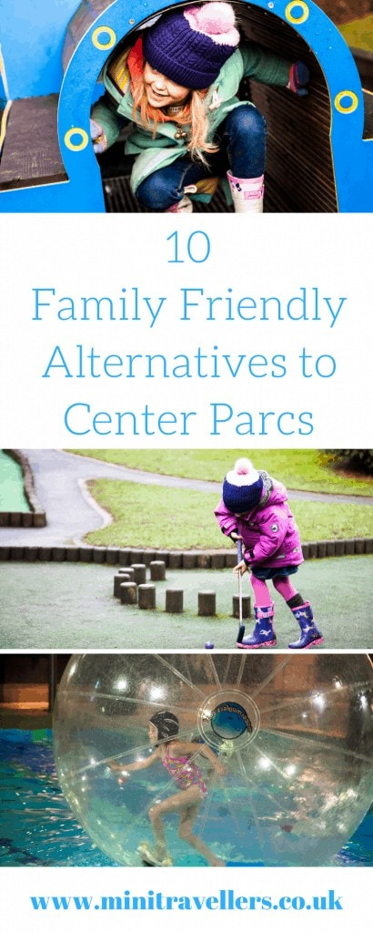 10 Family Friendly Alternatives to Center Parcs. Plan your next family holiday with my ideas on where to stay as an alternative to Center Parcs at www.minitravellers.co.uk
