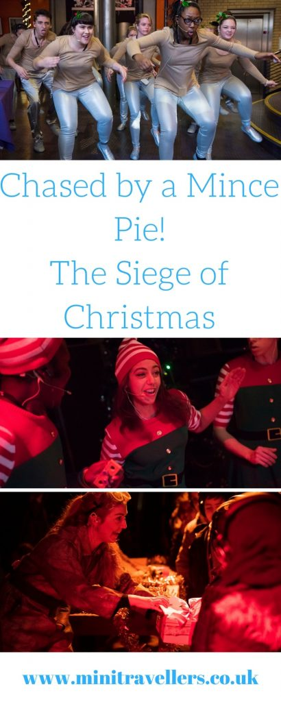 Chased by a Mince Pie! The Siege of Christmas