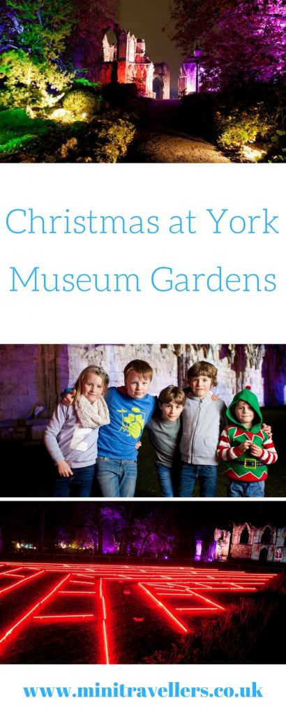 Christmas at York Museum Gardens