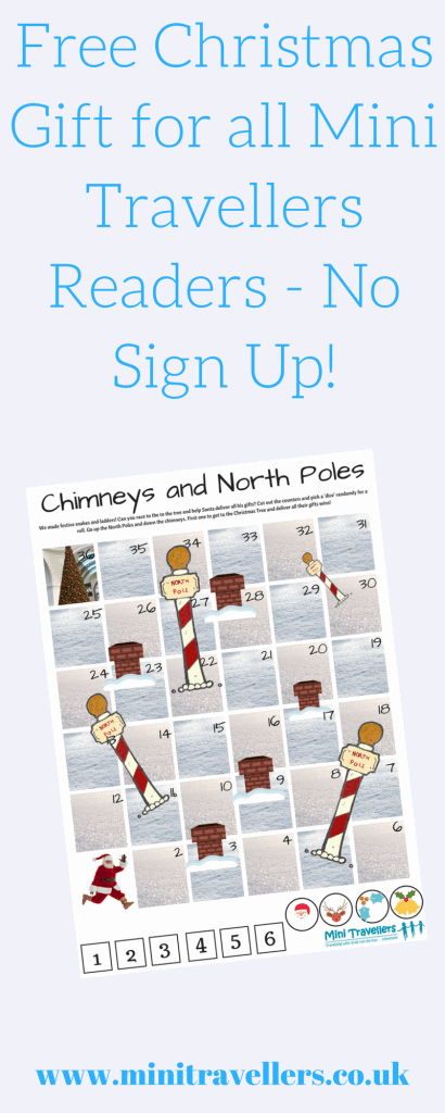 Download our Free Christmas Travel Game Printable for all Mini Travellers Readers - No Sign Up!