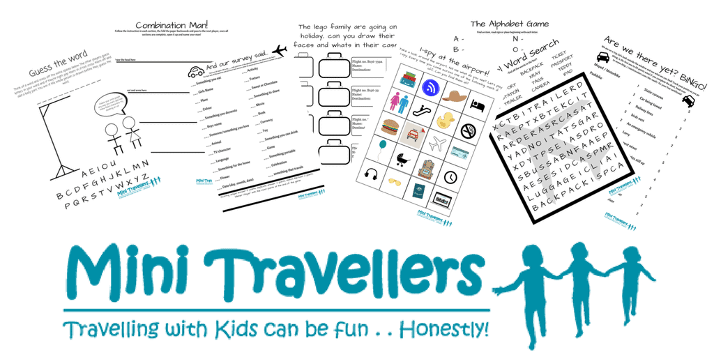 photo about Printable Family Games known as Totally free Printable Generate Video games - Mini Holidaymakers - Relatives