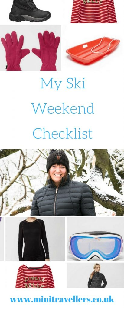 My Ski Weekend Checklist