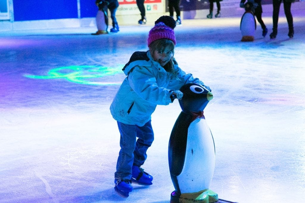 Tips for Ice Skating with Kids at Liverpool Ice Festival www.minitravellers.co.uk