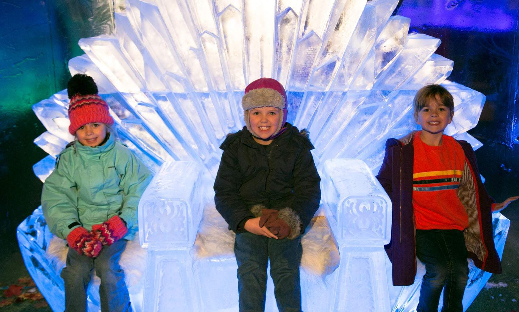 Is it worth taking kids to the Ice Bar in Liverpol? | Liverpool Ice Festival www.minitravellers.co.uk