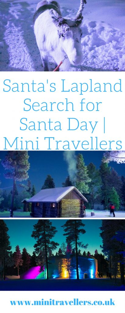 Santa's Lapland Search for Santa Day - Find out what happened when we visited Santa's Lapland at Mini Travellers #lapland #Christmas