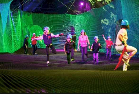 REVIEW: Bounce Below Junior at Llechwedd Slate Caverns, Snowdonia