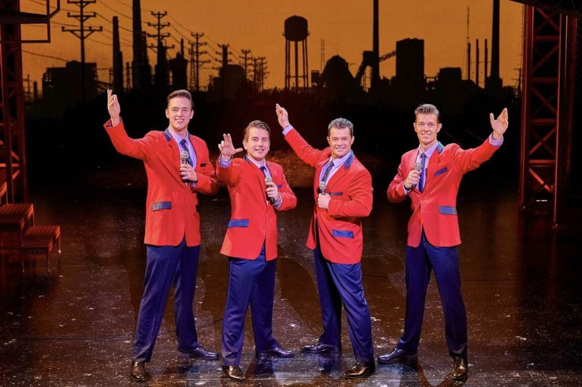 separation shoes ad814 d4bfd Review | Jersey Boys | Liverpool Empire - Mini Travellers ...