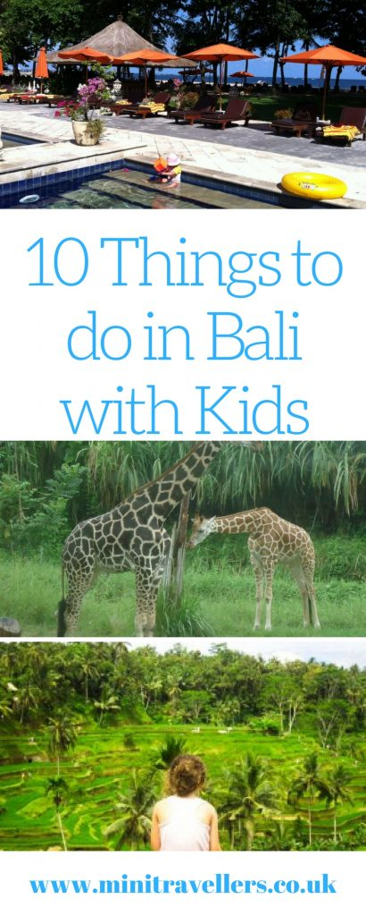 10 Things to do in Bali with Kids