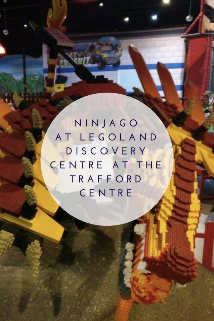 Ninjago at Legoland Discovery Centre at the Trafford Centre