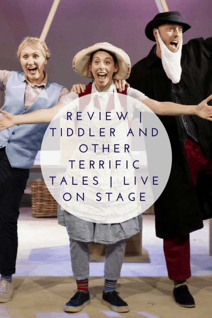 Review | Tiddler and other Terrific Tales | Live on Stage