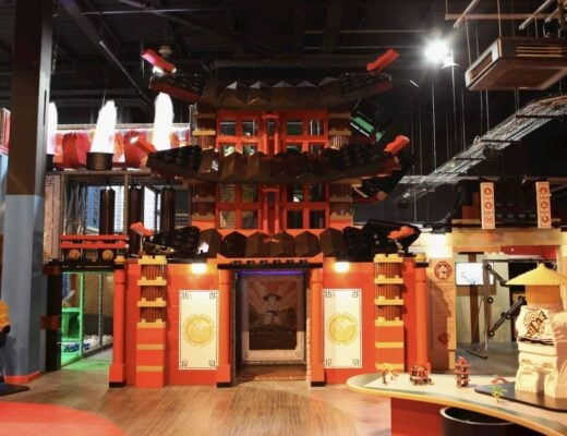Ninjago Ninja at Legoland Discovery Centre at the Trafford Centre