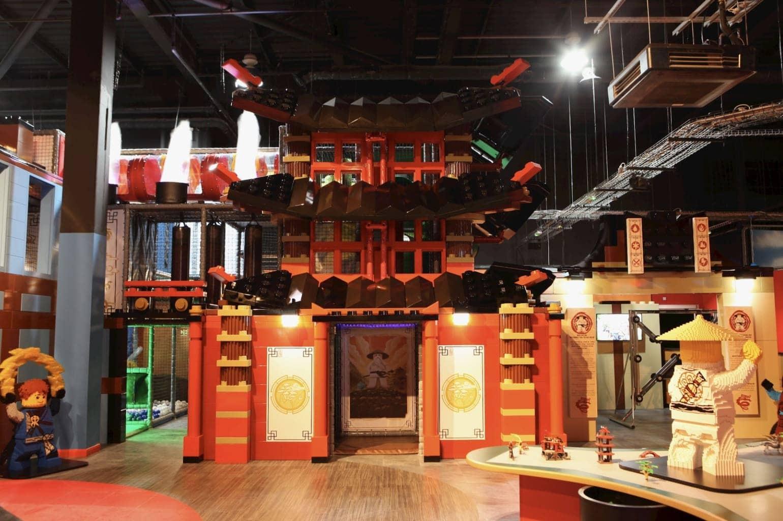 Ninjago Ninja at Legoland Discovery Centre at the Trafford Centre