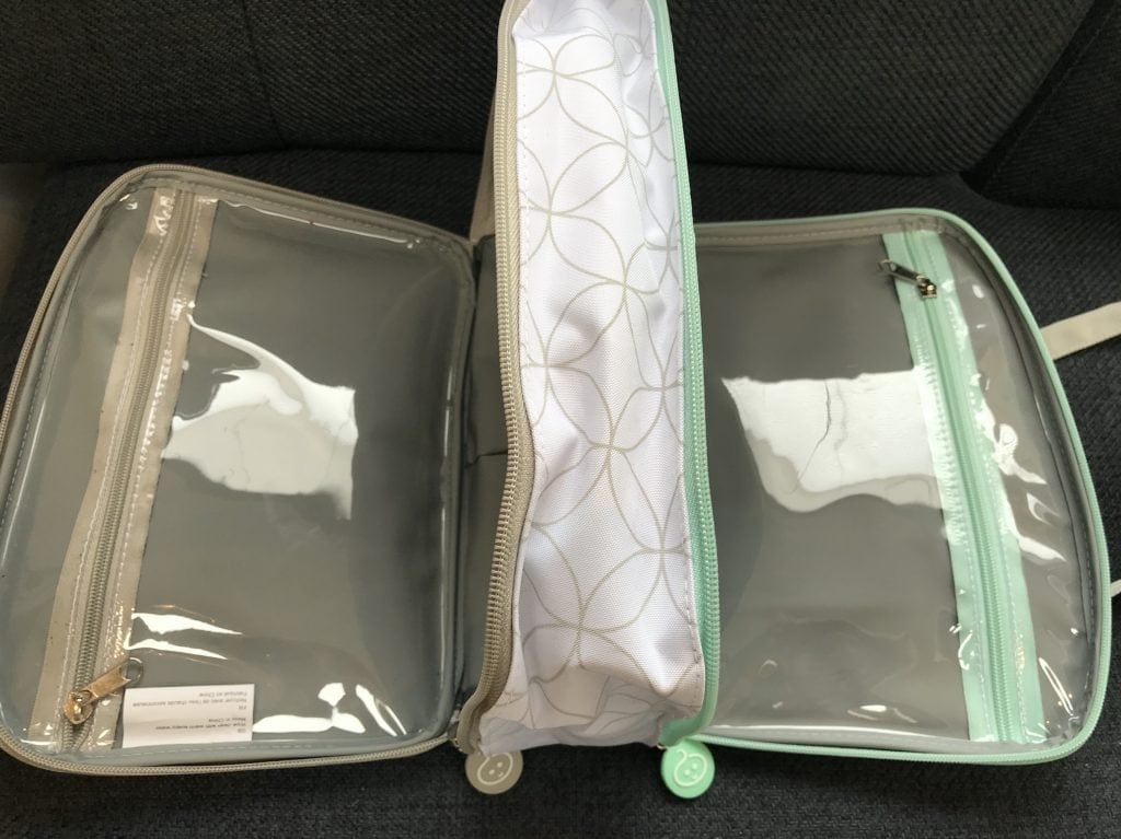 Cuddledry Baby & Me washbag review | Mini Travellers