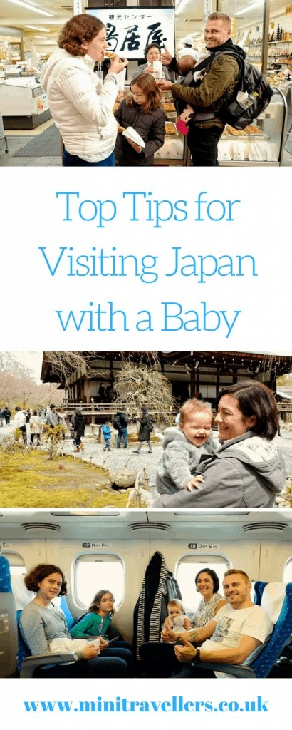 Top Tips for Visiting Japan with a Baby
