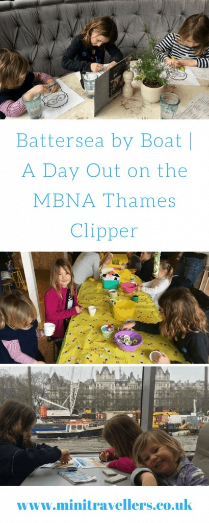 Battersea by Boat | A Day Out on the MBNA Thames Clipper