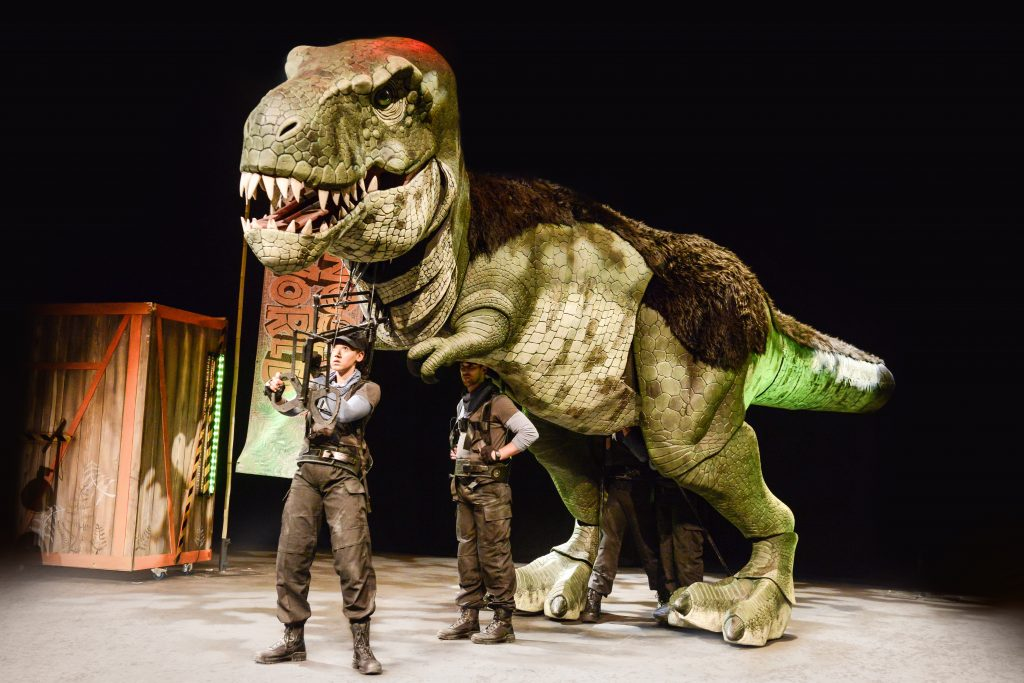 Review | Dinosaur World Live at The Storyhouse, Chester – 'Live' Dinosaurs in Chester!